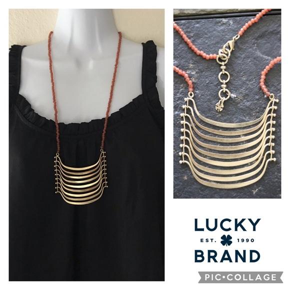 Lucky Brand multi bar pendant